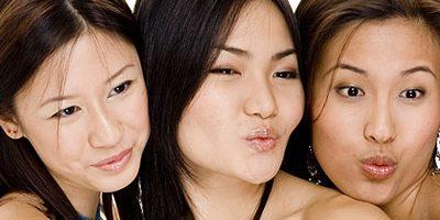 Asiatische Lesben